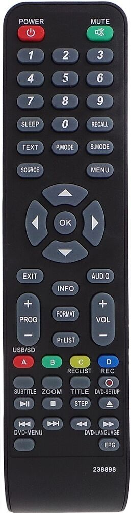 viano tv remote instructions
