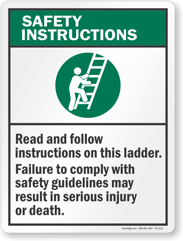 what is safety instruction
